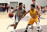 November 13, 2015: The Texas A&M University-Commerce Lions play against the Oklahoma Christian University Eagles in the Eagles Nest on the campus of Oklahoma Christian University.