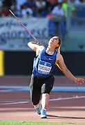 Eda Tugsuz (TUR) places second in the women's javelin at 211-7 (64.51m)during the 39th Golden Gala Pietro Menena in an IAAF Diamond League meet at Stadio Olimpico in Rome on Thursday, June 6, 2019. (Jiro Mochizuki/Image of Sport)