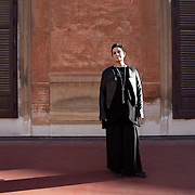 Palermo, Sicily, February 7, 2014. Roberta Torre, Italian theater director and filmmaker.