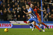 Brighton central midfielder, Beram Kayal (7) during the Sky Bet Championship match between Brighton and Hove Albion and Ipswich Town at the American Express Community Stadium, Brighton and Hove, England on 29 December 2015. Photo by Phil Duncan.