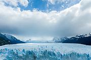 Overview of the Perito Moreno Glacier, Patagonia, Argentina