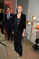 SOFIA WELLESLEY at a party hosted by Melissa Del Bono to celebrate the launch of her Meli Melo flagship store at 324 Portobello Road, London W10 on 28th November 2013.