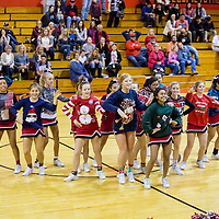 12-12-16 Green Forest Cheerleaders Halftime Show