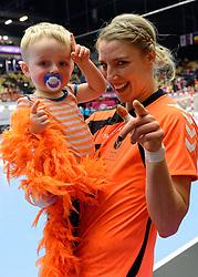 18-12-2015 DEN: World Championships Handball 2015 Poland  - Netherlands, Herning<br /> Halve finale - Nederland staat in de finale door Polen met 30-25 te verslaan / Nycke Groot #17