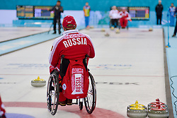 Alexander Shevchenko, Wheelchair Curling Finals at the 2014 Sochi Winter Paralympic Games, Russia