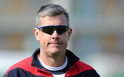 Lancashire's Head Coach Ashley Giles - Photo mandatory by-line: Harry Trump/JMP - Mobile: 07966 386802 - 08/04/15 - SPORT - CRICKET - Pre Season - Somerset v Lancashire - Day 2 - The County Ground, Taunton, England.