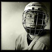 Ice Men Cometh… Steindor Ingason, 17, Iceland..An iPhone portrait series on young men competing in the 2012 IIHF Ice Hockey World Championships Division 3. The tournament  was contested by countries New Zealand, Iceland, China, Bulgaria and Turkey at Dunedin Ice Stadium. Dunedin, Otago, New Zealand. 17th January 2012. Photo Tim Clayton