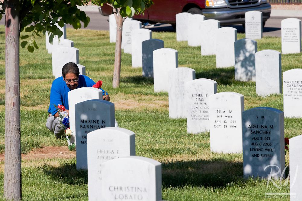 Memorial Day, Santa Fe National Cemetery, New Mexico