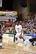 November 25th, 2010:  Anchorage, Alaska - University of Alaska-Anchorage guard Mario Gill (2) runs a play in the Seawolves 54-86 loss to Weber State in the first round of the Great Alaska Shootout.