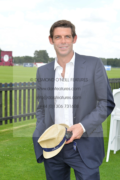 MALCOLM BORWICK at The Royal Salute Coronation Cup Polo held at Guards Polo Club,  Smiths Lawn, Windsor Great Park, Egham on 23rd July 2016.