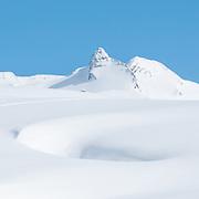 Winterbild von Graustock Kanton Obwalden