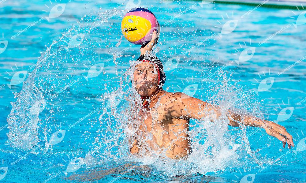 11 SMITH Jesse USA<br /> Hungary HUN (white) - United States USA (blue)<br /> day 04 - 26/06/2015<br /> FINA Water Polo World League Superfinal Men<br /> Bergamo (ITA) 23-28 June 2015<br /> Photo G.Scala/Deepbluemedia