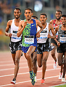 Abadi Hadis (ETH) places fifth in the 5,000m in 12:56.48during the 39th Golden Gala Pietro Menena in an IAAF Diamond League meet at Stadio Olimpico in Rome on Thursday, June 6, 2019. (Jiro Mochizuki/Image of Sport)