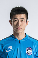 **EXCLUSIVE**Portrait of Chinese soccer player Mao Haoyu of Tianjin TEDA F.C. for the 2018 Chinese Football Association Super League, in Tianjin, China, 28 February 2018.