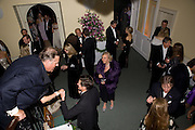 COSIMA LOEWENSTEIN IN CENTRE, Nicky Haslam party for Janet de Botton and to celebrate 25 years of his Design Company.  Parkstead House. Roehampton. London. 16 October 2008.  *** Local Caption *** -DO NOT ARCHIVE-© Copyright Photograph by Dafydd Jones. 248 Clapham Rd. London SW9 0PZ. Tel 0207 820 0771. www.dafjones.com.