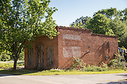 Abandoned ruins where the television series The Walking Dead is filmed May 7, 2013 in Haralson, Georgia.