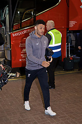 NEWCASTLE-UPON-TYNE, ENGLAND - Saturday, May 4, 2019: Liverpool's Alex Oxlade-Chamberlain arrives ahead of the FA Premier League match between Newcastle United FC and Liverpool FC at St. James' Park. (Pic by David Rawcliffe/Propaganda)