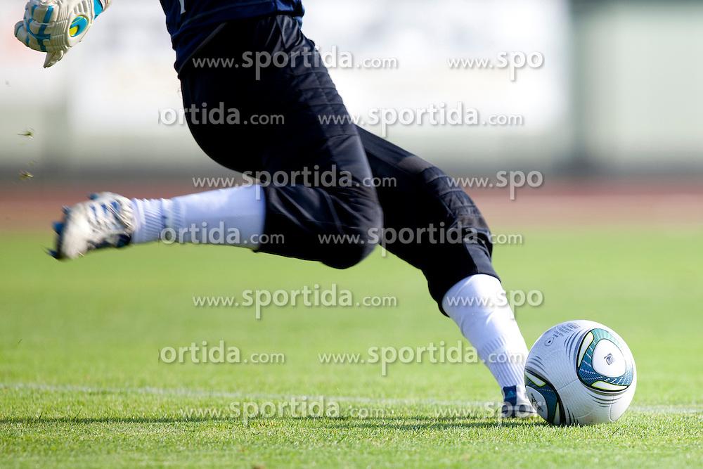 Shot during football match between NK Triglav and NK CM Celje of 16th Round of First Slovenian League, on October 30, 2011 at Stadium Kranj, Kranj, Slovenia. (Photo by Petra Praprotnik / Sportida.com)