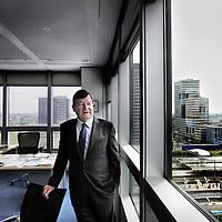Nederland, Amsterdam , 29 april 2014.<br /> topman Heinz Schimmelbusch van Advanced Metallurgical Group (AMG)<br /> Foto:Jean-Pierre Jans