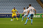 AFC Wimbledon defender Darius Charles (32) during the EFL Sky Bet League 1 match between Coventry City and AFC Wimbledon at the Ricoh Arena, Coventry, England on 28 September 2016. Photo by Stuart Butcher.