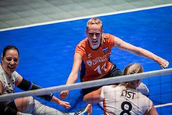16-07-2018 NED: World Championship sitting volleyball women, Arnhem<br /> Netherlands - Rwanda 3-0 / Ellen Ceelen #11 of Netherlands