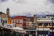 Cityscape of Chania, Crete, Greece