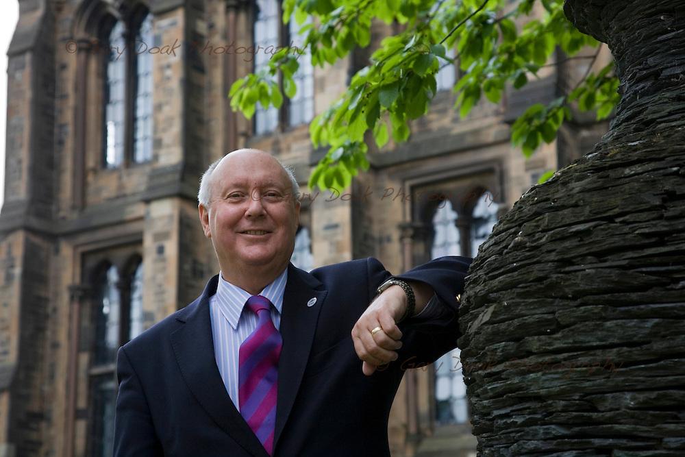 Professor Sir Kenneth Calman, Chancellor of Glasgow University..Also chair of the Calman Commission on Scottish Devolution..