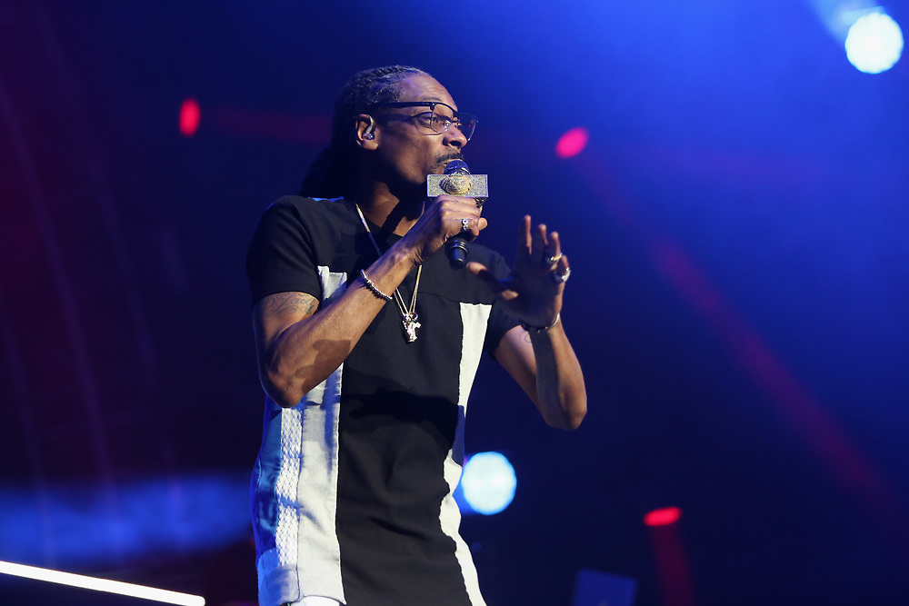 Snoop Dogg performs at the 2017 BET Experience at The Staples Center on Thursday June 22, 2017, in Los Angeles. (Photo by Los Angeles/Invision/AP)