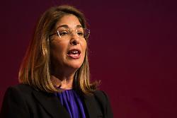 © Hugo Michiels Photography. 26/09/2017. Brighton, UK. Canadian author, social activist, and filmmaker NAOMI KLEIN  speaks on the third day of the 2017 Labour Party Conference in Brighton. Photo credit: Hugo Michiels Photography
