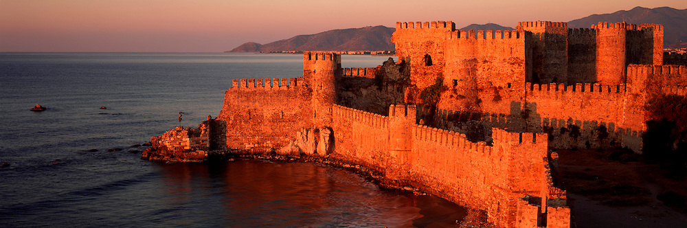 TURKEY, SOUTH COAST the Mamure Kalesi; 13thc. Selcuk castle