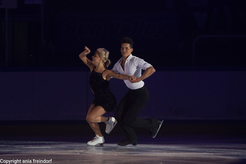 International Ice Skating Gala, Courchevel, France, 20 July 2017, Justyna Plutowska, Jeremie Flemin, Members of National Team, Poland,