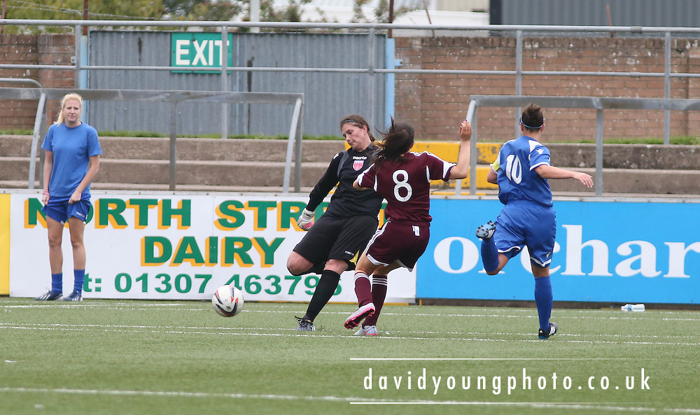 - Forfar Farmington v Hearts - Scottish Womens' Premier League at Station Park<br /> <br /> <br />  - &copy; David Young - www.davidyoungphoto.co.uk - email: davidyoungphoto@gmail.com