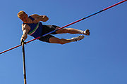 Jax THOIRS competes in the Men's Pole Vault Final during the Muller British Athletics Championships at Alexander Stadium, Birmingham, United Kingdom on 24 August 2019.