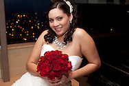 Bridal Portrait at Cardinal Club Raleigh, NC