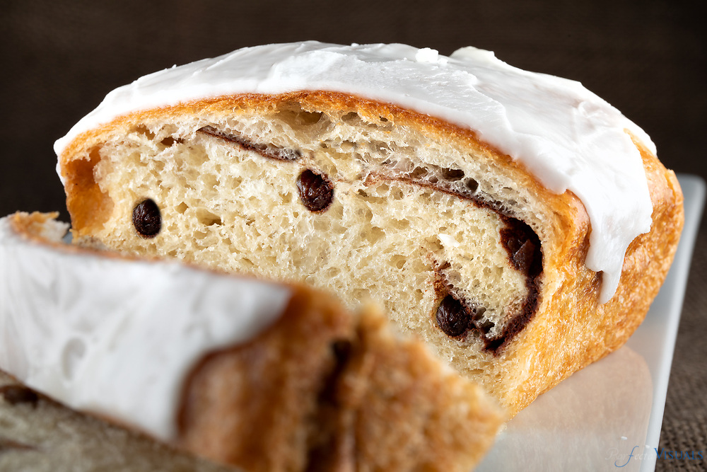 Breads and Sweets by Donna Kay, Cinnamon Raisin Bread, $7/loaf<br /> <br /> Items from the Greensboro Farmers Market.<br /> <br /> Photographed, Tuesday, June 26, 2018, in Greensboro, N.C. JERRY WOLFORD and SCOTT MUTHERSBAUGH / Perfecta Visuals