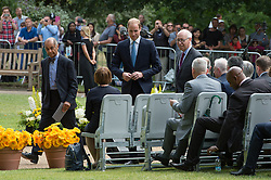 © London News Pictures. 07/07/15. London, UK. Prince William arrives at the Memorial Service in Hyde Park to mark the 10 year anniversary of the 7/7 London bombings, Central London. Photo credit: Laura Lean/LNP