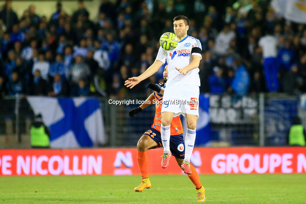 Andre Pierre GIGNAC - 09.01.2015 - Montpellier / Marseille - 20eme journee de Ligue 1<br />