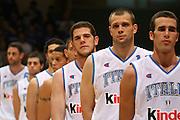 DESCRIZIONE : Bari Amichevole Nazionale Italiana Uomini <br /> Italia-Croazia<br /> GIOCATORE : Paolo Barlera Valerio Amoroso<br /> SQUADRA : Nazionale Italiana Uomini Italia<br /> EVENTO : Raduno di Bari Nazionale Italia<br /> GARA : Italia Croazia<br /> DATA : 02/06/2007 <br /> CATEGORIA : Ritratto<br /> SPORT : Pallacanestro <br /> AUTORE : Agenzia Ciamillo-Castoria/E.Castoria