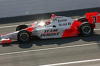 Helio Castroneves, Road Runner Turbo Indy 300, Kansas Speedway, Kansas City, KS USA 27/4/08