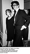 Sam Taylor Wood & Jay Jopling. Tate Gallery, London.1 July 1997. Film 97628f13<br /> © Copyright Photograph by Dafydd Jones<br /> 66 Stockwell Park Rd. London SW9 0DA<br /> Tel 0171 733 0108