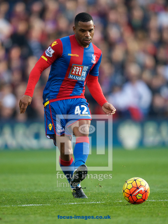 Jason Puncheon of Crystal Palace during the Barclays Premier League match at Selhurst Park, London<br /> Picture by Alan Stanford/Focus Images Ltd +44 7915 056117<br /> 31/10/2015
