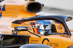 February 18, 2019 - Barcelona, Catalonia, Spain - Carlos Sainz (McLaren F1 Team) during the winter test days at the Circuit de Catalunya in Montmelo (Catalonia), February 18, 2019. (Credit Image: © Fernado Pidal/NurPhoto via ZUMA Press)