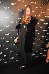ANOUSHKA BECKWITH at the Moet & Chandon Tribute to Cinema party held at the Big Sky Studios, Brewery Road, London N7 on 24th March 2009.