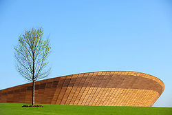 Client: Olympic Delivery Authority. Velodrome - Queen Elizabeth Park, London. Photo: Anthony Charlton