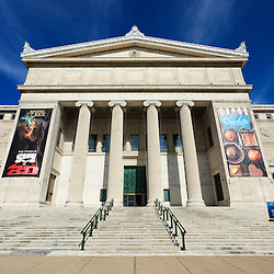 Field Museum of Natural History in Chicago, Illinois, USA. The Field Museum is named after Marshall Field and is a popular attraction for tourists and local residents.