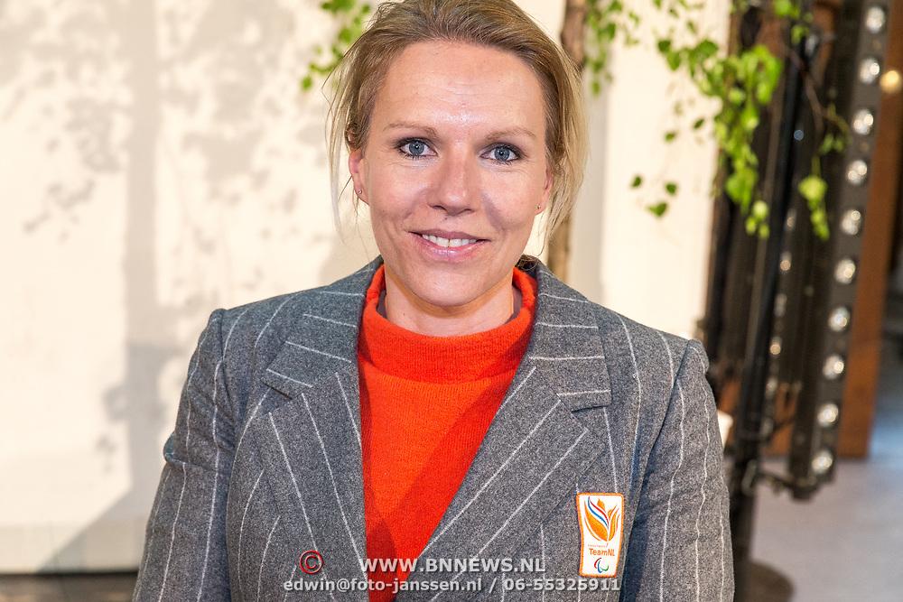 NLD/Den Haag/20180323 - Huldiging Olympische en Paralympische medaillewinnaars, Esther Vergeer