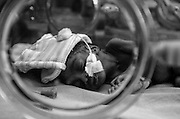 Bea Ahbeck/Fremont Argus<br /> <br /> A premature baby in an incubator at Mulago Hospital in Kampala, Uganda, Nov. 7, 2005.