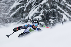 Pedersen Jasper of Norway during Slalom race at 2019 World Para Alpine Skiing Championship, on January 23, 2019 in Kranjska Gora, Slovenia. Photo by Matic Ritonja / Sportida