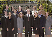 Cooperate Scholars Group photo college of business