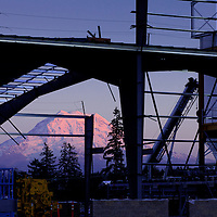 Construction site at sunset, Commercial photography, Industrial Photography, advertising photography, Tucson, Phoenix